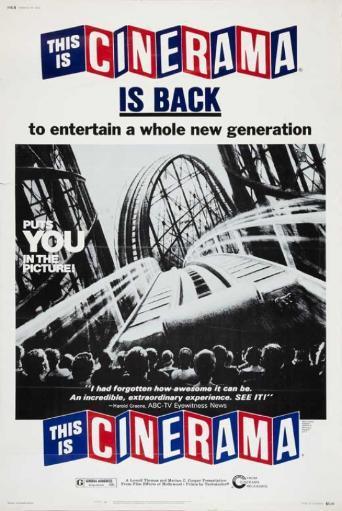This is Cinerama Movie Poster (11 x 17) 00MDABGDLVSJUIWO