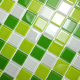 Fresh Green - 3-Dimensional Mosaic Decorative Wall Tile(2PC)