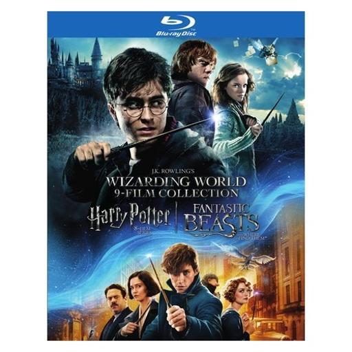 Wizarding world 9-film collection (blu-ray/8 disc) B4QRJIGAIWGGMKAG