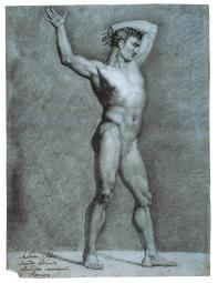 Study For A Male Nude Poster Print EVCMOND075VJ438HLARGE