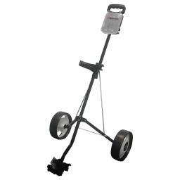 JEF World of Golf Deluxe Steel 2-Wheel Pull Cart,  Brand New