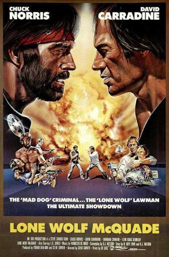 Lone Wolf McQuade Movie Poster (11 x 17) D4GQ8M33K0PTQNP9