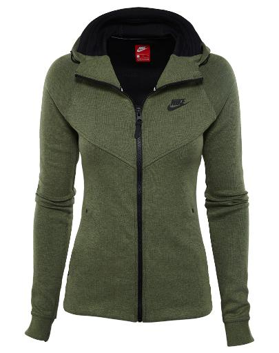 Nike Tech Fleece Full Zip Hoodie Womens Style: 842845 575497