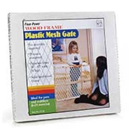 Four Paws Products Plastic Mesh Safety Gate 26-42 Inch - 57130