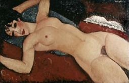 Reclining Nude Poster Print by  Amedeo Modigliani PDX278599SMALL