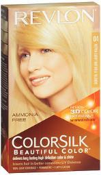 Revlon Colorsilk Beautiful Color Permanent Color, Ultra Light Natural Blonde 04