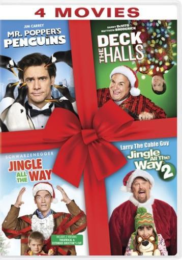 Mr poppers penguins/deck the halls/jingle all the way 1&2 (dvd/4fe) ABW94ERDOE7WJJ3I