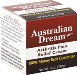 Australian Dream Pain Relieving Arthritis Cream