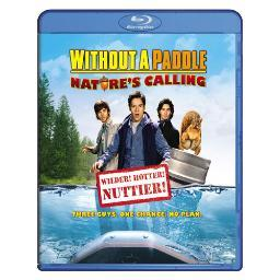 Without a paddle-natures calling (blu ray)                    nla BR140474