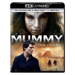 Mummy (2017) (blu ray/4kuhd/ultraviolet/digital hd) BR61188191