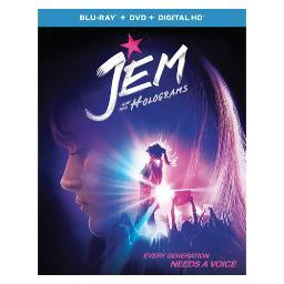 Jem & the holograms (blu ray/dvd w/digital hd) BR61164469