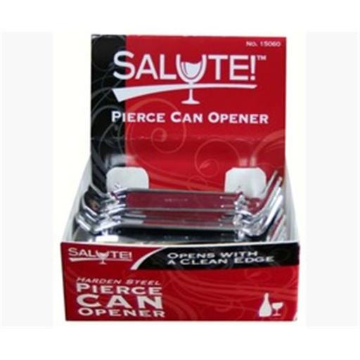 Navajo Incorporated SALUTE15060 25 Pierce Can & Bottle Opener with Display