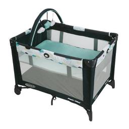 Graco Baby Products 1Y7700 Pack Play Travel Playard with Automatic Folding Feed - Stratus
