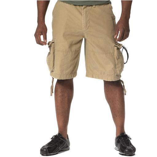 New, Vintage Khaki Utility Cargo Shorts in Mens Sizes