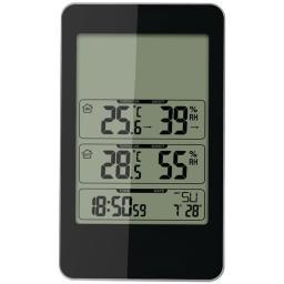 Taylor 1733 Indoor/Outdoor Digital Thermometer With Barometer & Timer