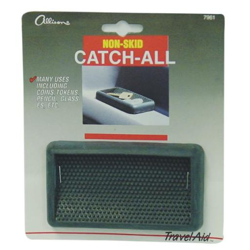 Barjan 247961 Allison Rubber Grip Non-Skid Catch All Keeps Coins, Keys, Pens & Other Small Items in Place