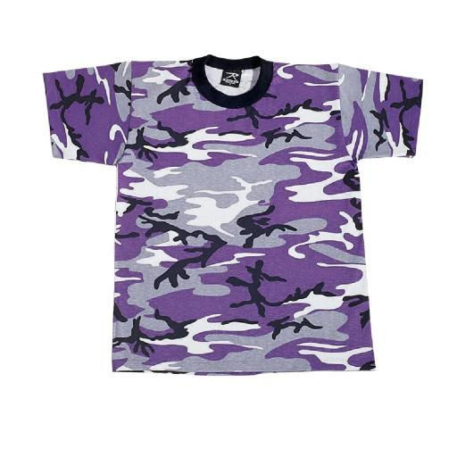 Kids Ultra Violet Camouflage T-Shirt