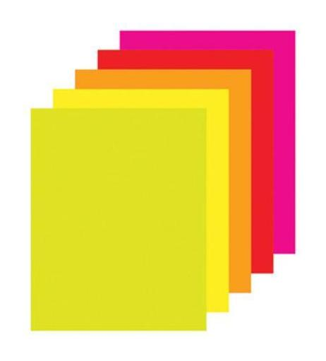 Office Depot 858385 Poster Board Fluorescent, Assorted Color
