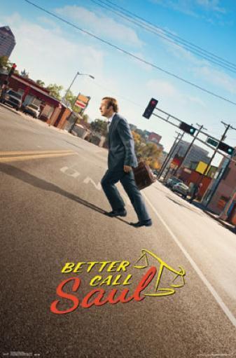 Better Call Saul - Street Poster Poster Print