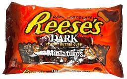 Reese's Peanut Butter Cups Miniatures Dark Chocolate