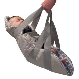 Kidco tr5101 gray kidco swingpod travel swing gray 26.5 x 10 x 1