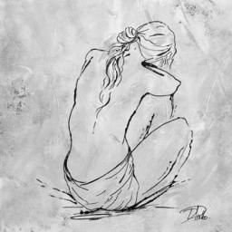 Nude Sketch I Poster Print by Patricia Pinto PDX7798DSMALL