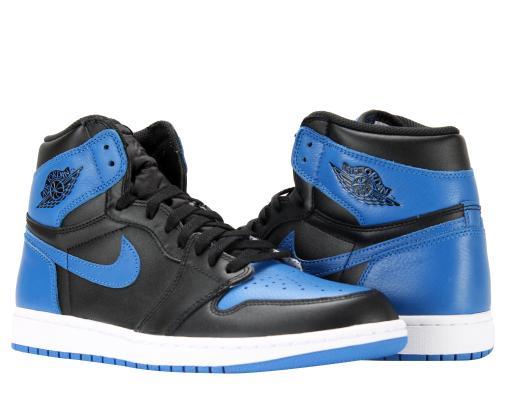 the latest a9044 65e3e Nike Air Jordan 1 Retro High OG Royal Men s Basketball Shoes 555088-007
