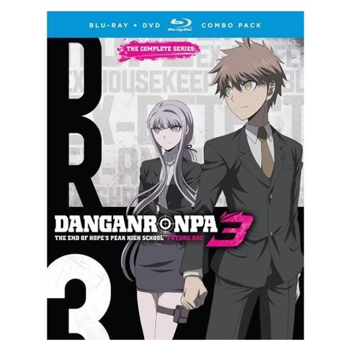 Danganronpa 3-end of hopes peak high school-future arc (blu-ray/dvd/4 disc) 1300608