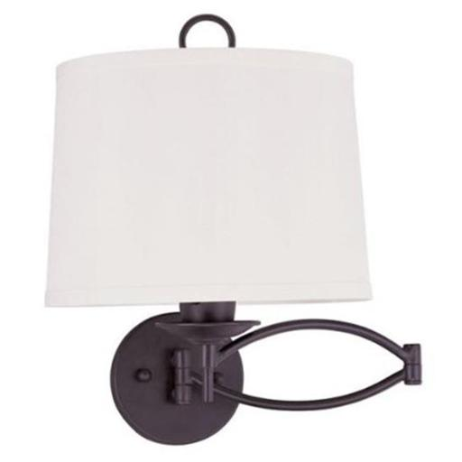 Livex 4903-07 Swing Arm Wall Lamp Swing Arm Wall Lamp Bronze