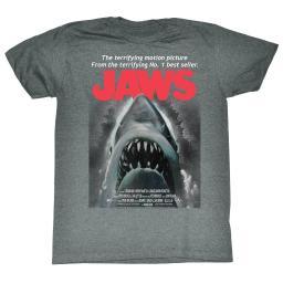 Jaws Movies Beware Adult Short Sleeve T Shirt