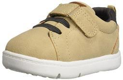 Carter's Every Step Park2-BP Baby Boy's Walking Casual Sneaker, Khaki 5.5 Medium US Toddler