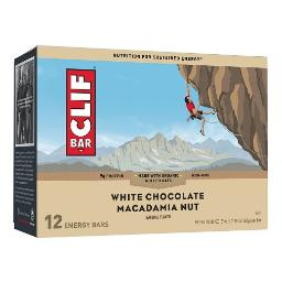 Clif Energy Bars White Chocolate Macadamia Nut 12 Pack