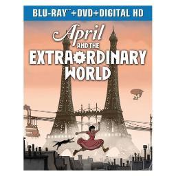 April & the extraordinary world (blu ray/dvd combo) (2discs) BR44180344
