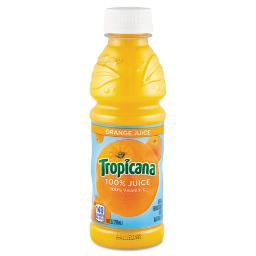 100% Juice Orange 10OZ Bottle 24 Per Each Carton   1 Carton of: 24