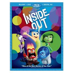 INSIDE OUT (2015/BLU-RAY/DVD/DIGITAL HD/3 DISC) 786936846959