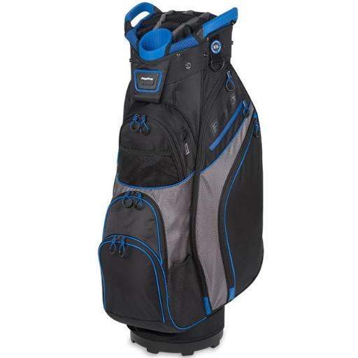 Bag Boy BB36109 Chiller Cart Golf Bag - Black, Charcoal & Royal