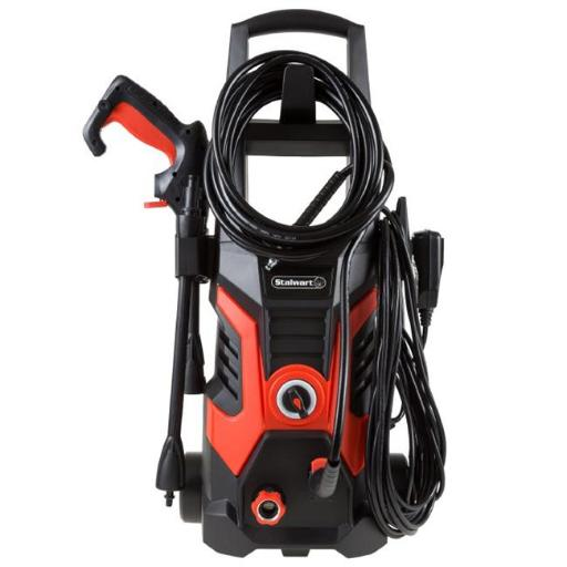 Stalwart M550091 1900 PSI Electric Powered Pressure Washer by Stalwart, Red & Black
