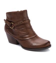 Bare Traps Womens Rosea Almond Toe Ankle Fashion Boots