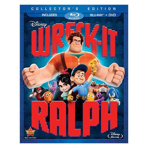 Wreck-it ralph (blu-ray/dvd/2 disc combo) TBAKHBPS3JIJ9OXF