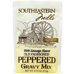 Southeastern Mills Old Fashioned Peppered Gravy Mix Packet