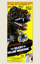 Beast of Hollow Mountain Movie Poster (11 x 17) MOVIF6070