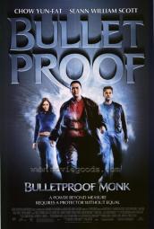 Bulletproof Monk Movie Poster (11 x 17) MOVGE6289