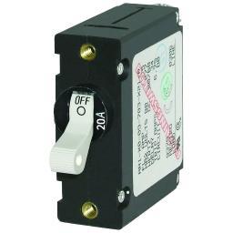 Blue sea 7214 circuit breaker aa1 20a wht