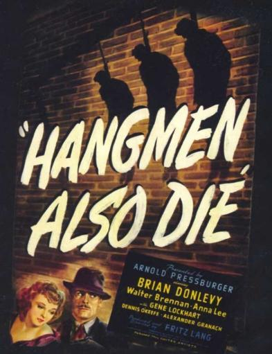 Hangmen Also Die Movie Poster Print (27 x 40) GF8NQAGXLL3Z9DC8