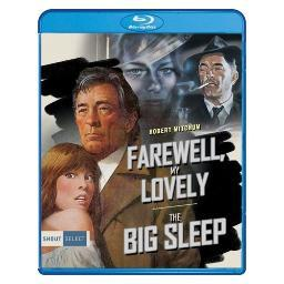 Farewell my lovely/big sleep (blu ray) (double feature/ws) BRSF18351