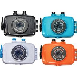 Intova 350344 Duo Action Camera - Assorted Color