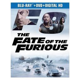 Fate of the furious (blu ray/dvd w/digital hd) BR61180959