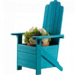 ae-wholesale-10018256-rustic-wood-adirondack-chair-planter-blue-35d68aadba4c4b9f