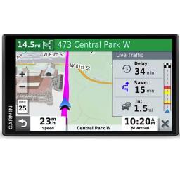Garmin DRIVESM65LMT 6.96 inch Traffic Car Mount GPS System