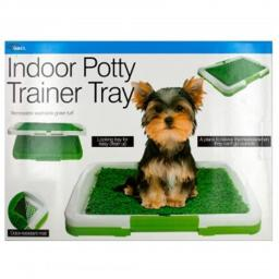 Dukes OS296-2 Indoor Potty Trainer Tray - 2 Piece